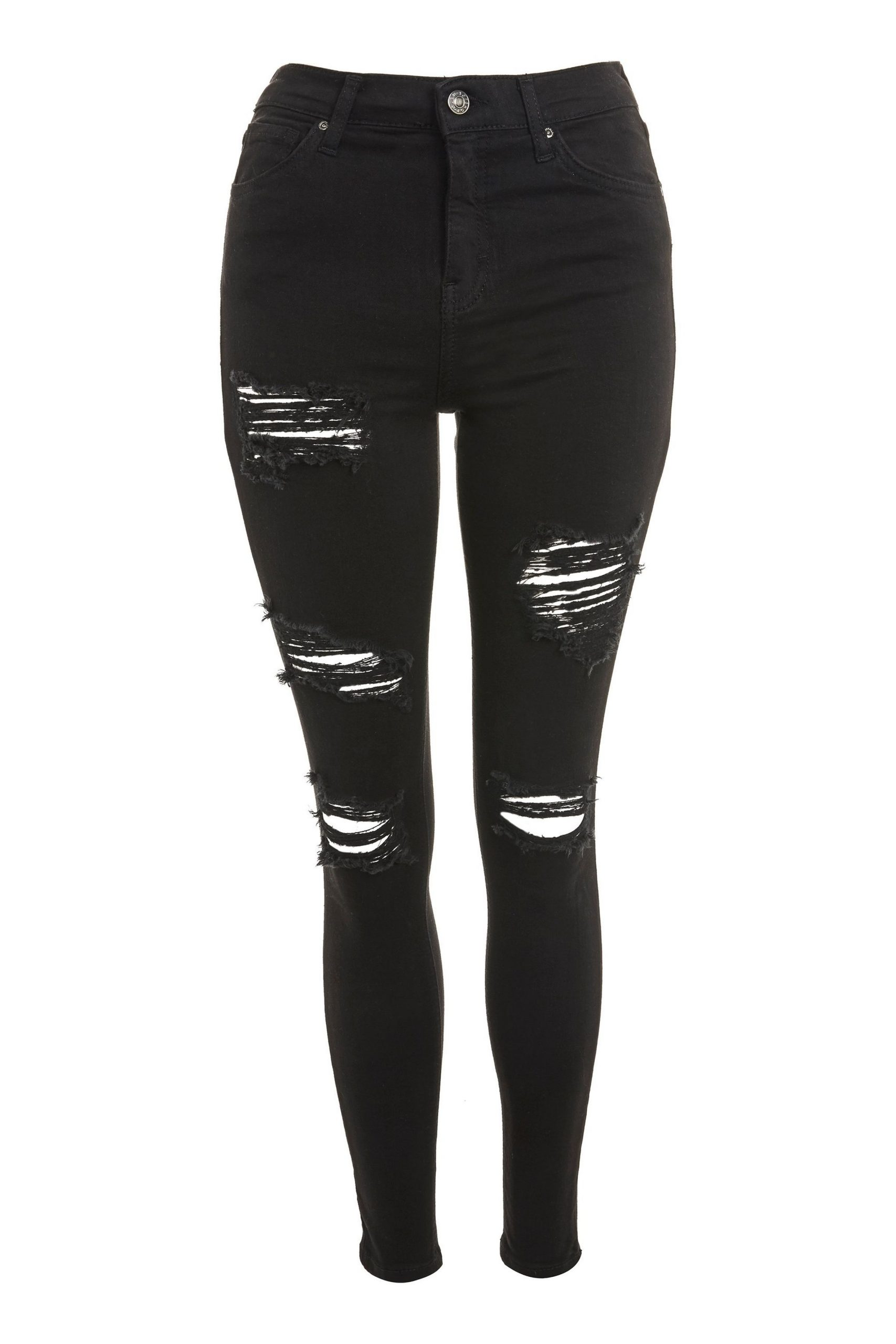 Washed Black Super Ripped Jamie Jeans