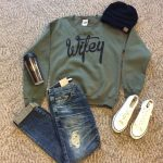 We love this perfect cold weekend outfit! Come check out our selection of cold...