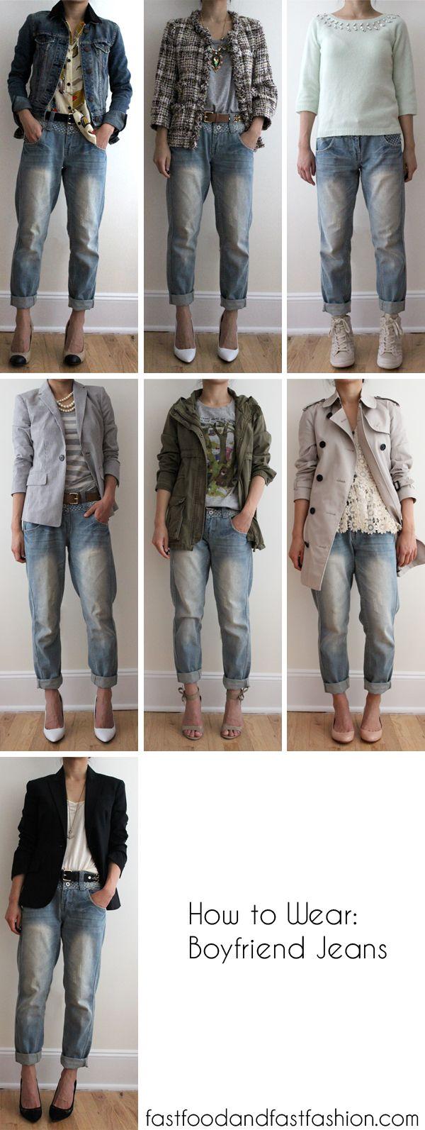 Wear It Five Ways: Boyfriend Jeans – Elle Blogs
