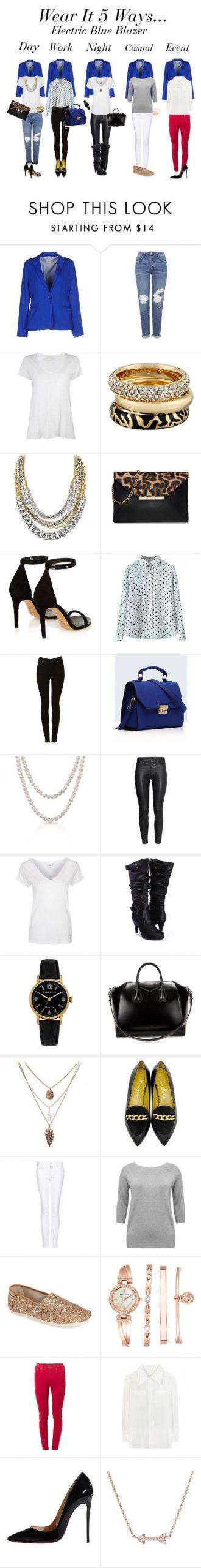 Wear it 5 Ways: Electric Blue Blazer