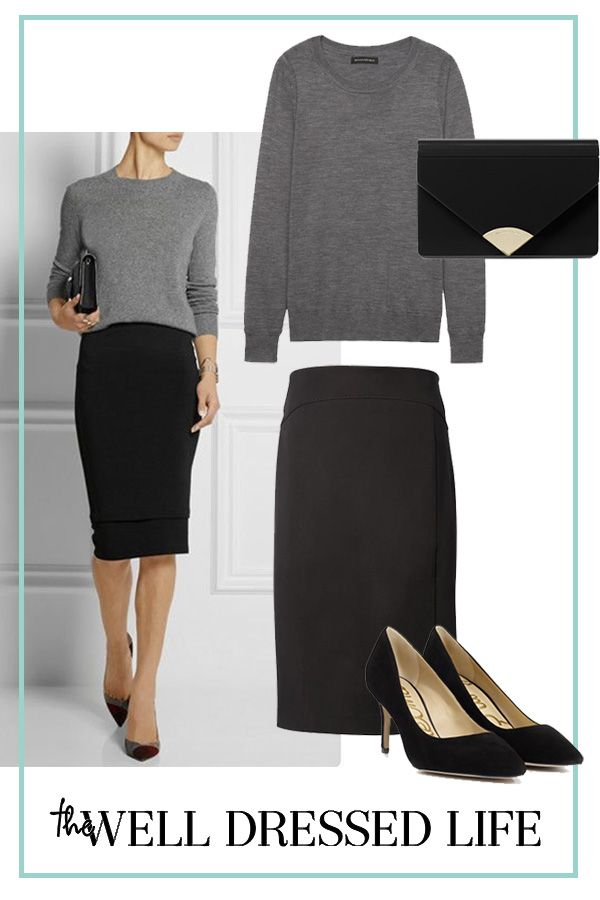 Wear to Work Inspiration: Less is More