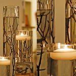 Wedding Wednesday: Flower-free centerpieces ideas
