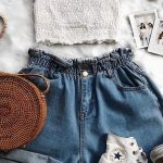 We're loving these denim shorts!