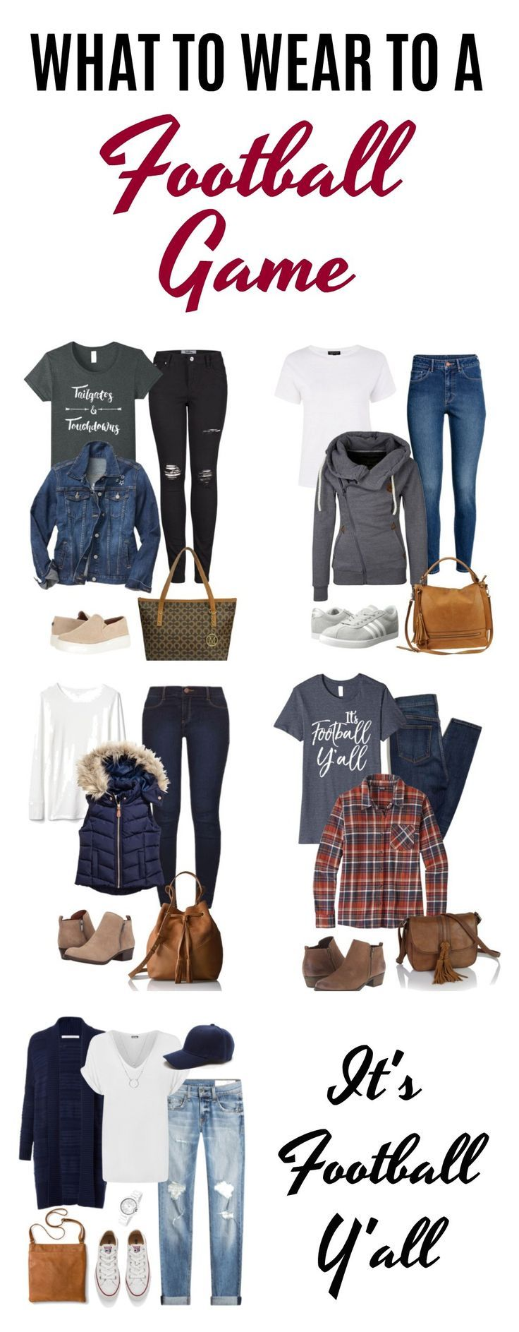 What to Wear to a Football Game (Women) – Outfits to Wear for Football Games
