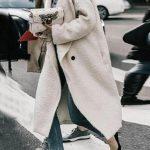 Winter Wool Blends Coat Women Long Slim Thicken Warm Outwear