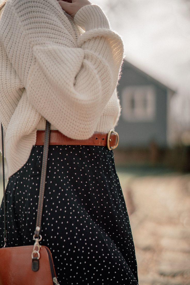 Winter in Polka Dots
