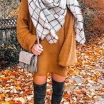 Women's Fashion Fall Winter Outfits Blanket Scarves