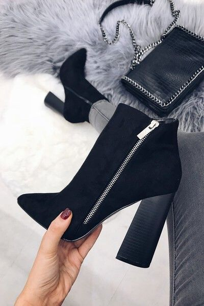 Women's fall winter fashion ankle boots outfits. Trends spring autumn casual c…