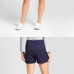 "Women's 5"" Chino Shorts - A New Day™ Navy 4 Women's 5"" Chino Shorts - A New Day..."