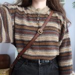 Womens Vintage Knit Sweater RY16