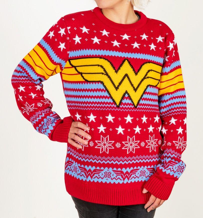 Wonder Woman Christmas Jumper