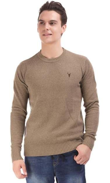 Wool Pullover – Cafe