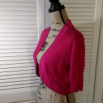 Worthington Pink Shrug Sweater Lightweight Worthington Shrug Sweater in GUC. Lig...