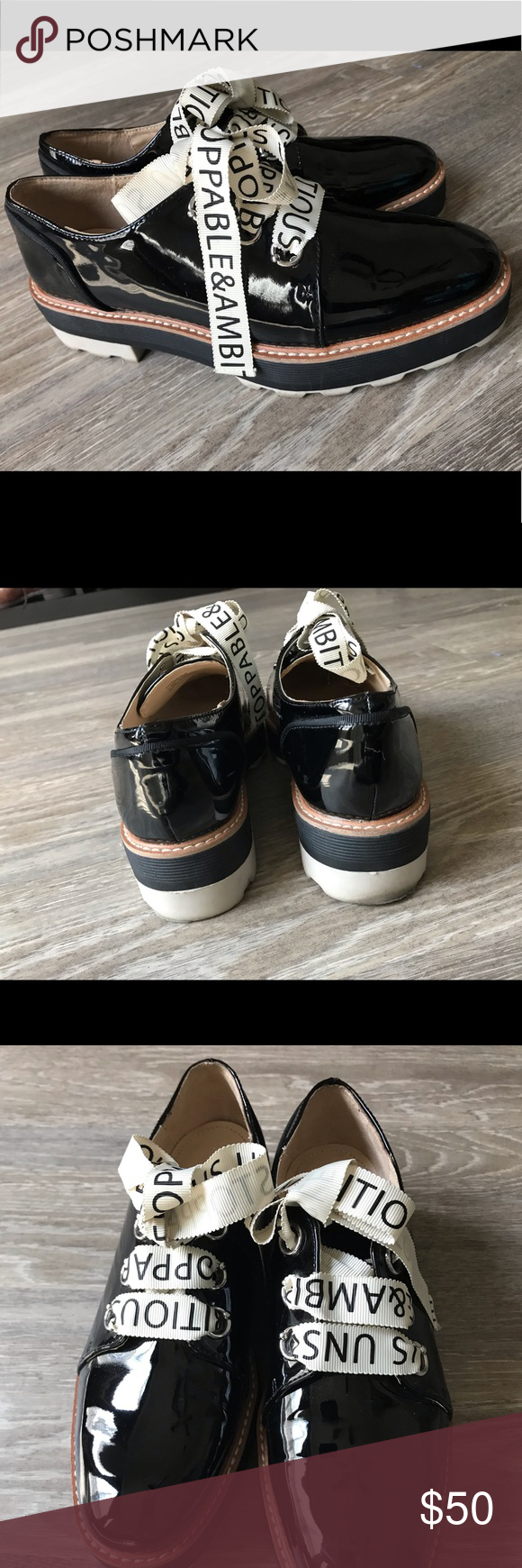 ZARA CLASSIC SHOES Very stylish and elegant used once only size 7 They go with e…