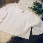 Zara Crop Top Zara Trafaluc white Crop Top Size small 100% cotton So many ways t...