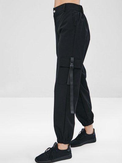 Zipper Cargo Pants