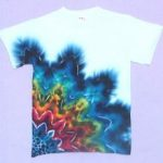 another cool tee- art center tye dye month
