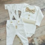 baby boy blessing outfit, baptism outfit boy, baby boy christening outfits, wedding outfit baby boy, baby boy tuxedo, Tan