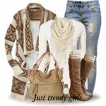 boho cardigan outfit-Bohemian winter ponchos trends www.justtrendygir...
