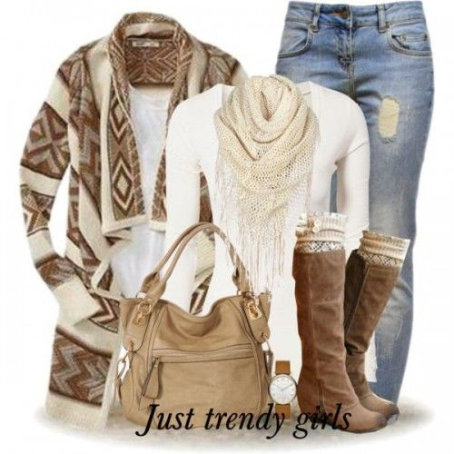 boho cardigan outfit-Bohemian winter ponchos trends www.justtrendygir…