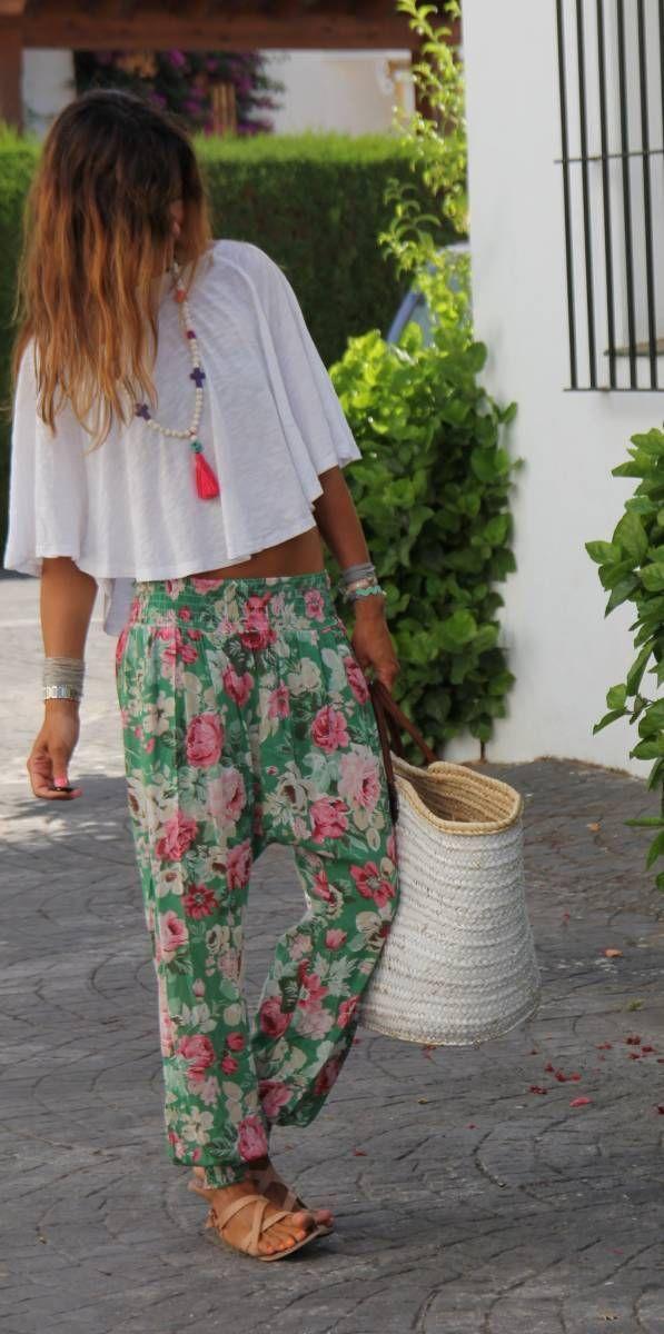 flower pants for the beach – mytenida