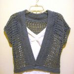 how to crochet a shrug sweater