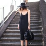 how to wear black in the summer // #streetstyle