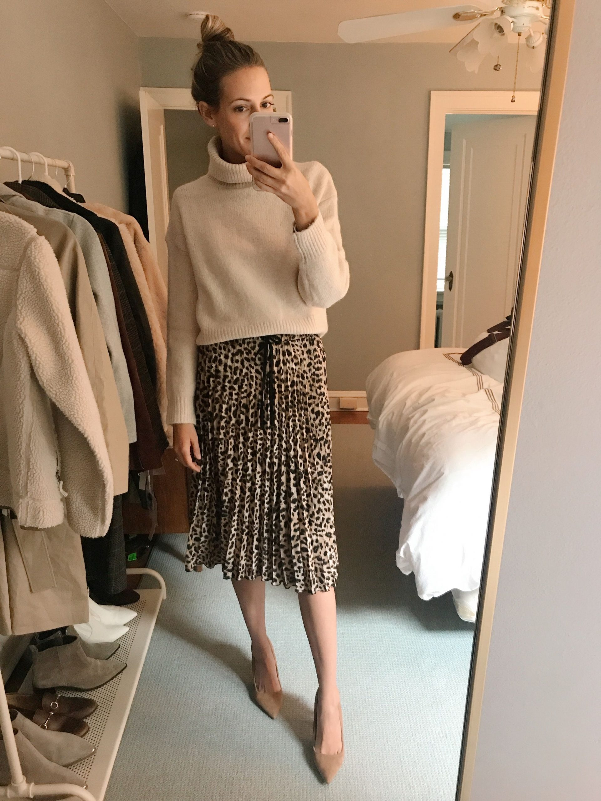 inexpensive sweaters try on H&M zara