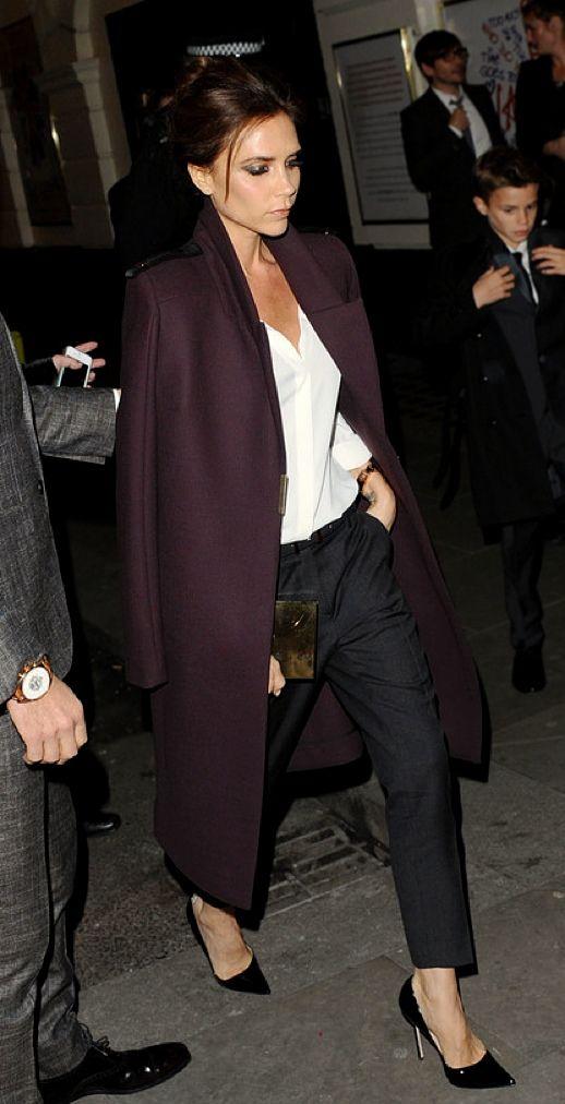 la modella mafia Victoria Beckham model off duty street style – red carpet chic …