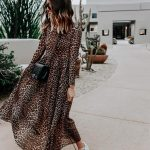 love this leopard dress so much 🐆❤️ sharing our tips for shopping on @eba...