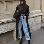 mm hello perfect baggy jeans/coat/beenie/samurai boots ensemble 😍😍😍| jo...
