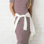 modest dress, striped dress, mikarose, modest clothing, teacher clothes, teacher...