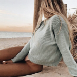 pinterest @kyliieee | beachy blonde balayage hair | sunkissed body goals | summer beach aesthetic