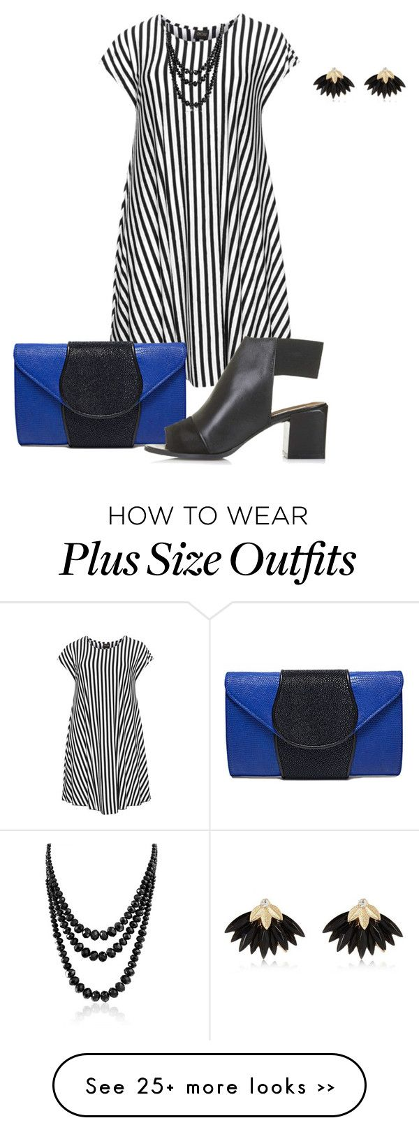 """""""plus size just dress it2/chic"""" by kristie-payne on Polyvore"""