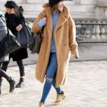 teddy coat & denim #style #fashion #streetstyle