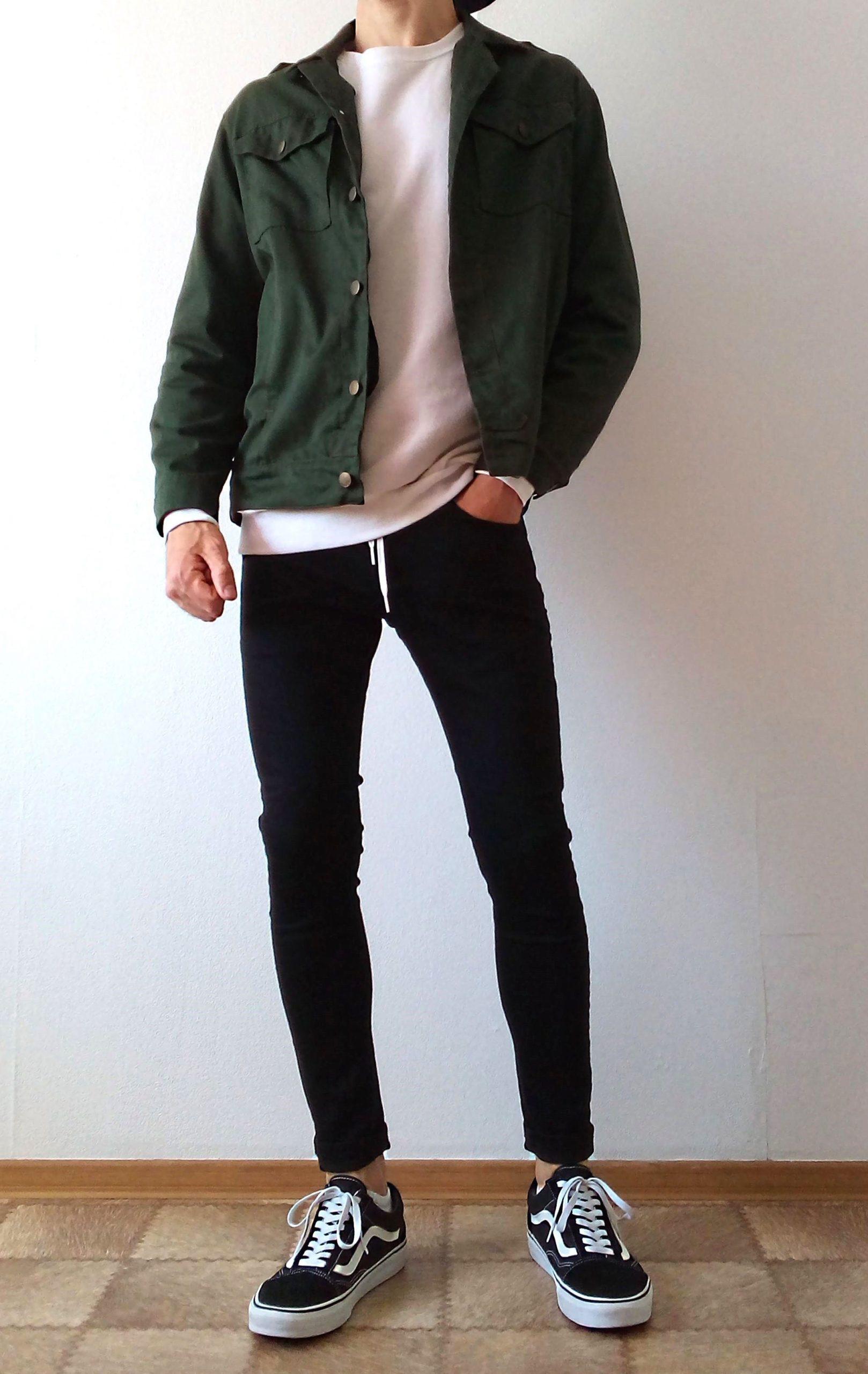 vans old skool black skinny jeans boys guys outfit | vans love #vans #vansoldsko…