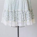 vintage 1970s white blue Gunne Sax prairie skirt | #adoredvintage #GunneSax #197...