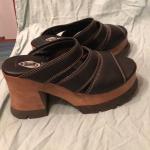 vintage London Underground sandals Worn once vintage super cute London Undergrou...