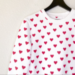 ▪️Burberry▪️Heart print cotton sweatshirt Burberry Heart print cotton sw...